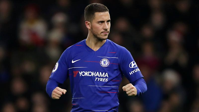 Sarri compares Hazard's Chelsea impact to that of Messi and Ronaldo
