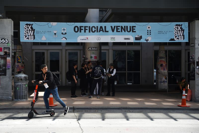 SXSW canceled as tech and entertainment world faces coronavirus