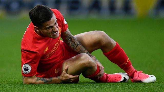 Liverpool could have Philippe Coutinho back as early as the visit of Southampton to Anfield on Sunday after he was injured at Watford.