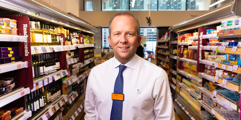 10) Simon Roberts, CEO, Sainsbury's. Photo: Sainsbury's