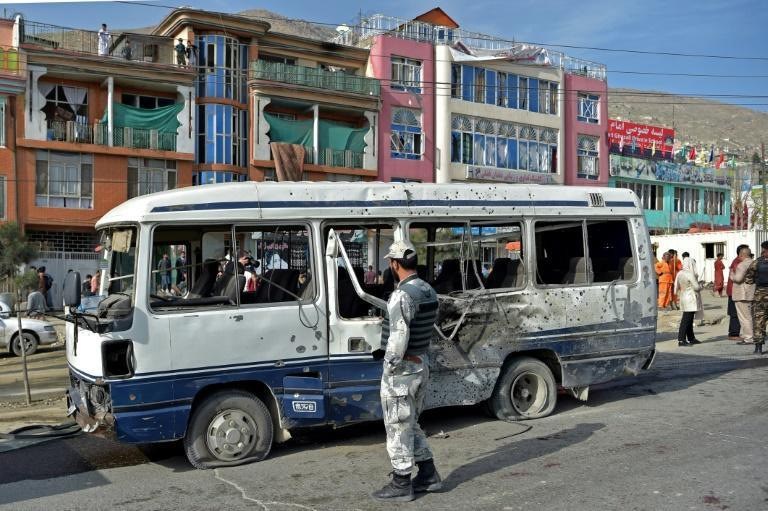 Damage after a blast in March in Kabul, where citizens have for years paid a disproportionate price in Afghanistan's conflict