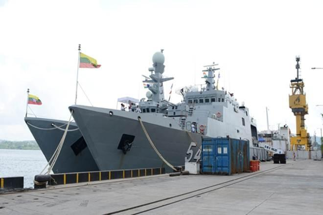 act east, Indian, Myanmar, Naval Ships, maritime, maritime interoperability, defence news