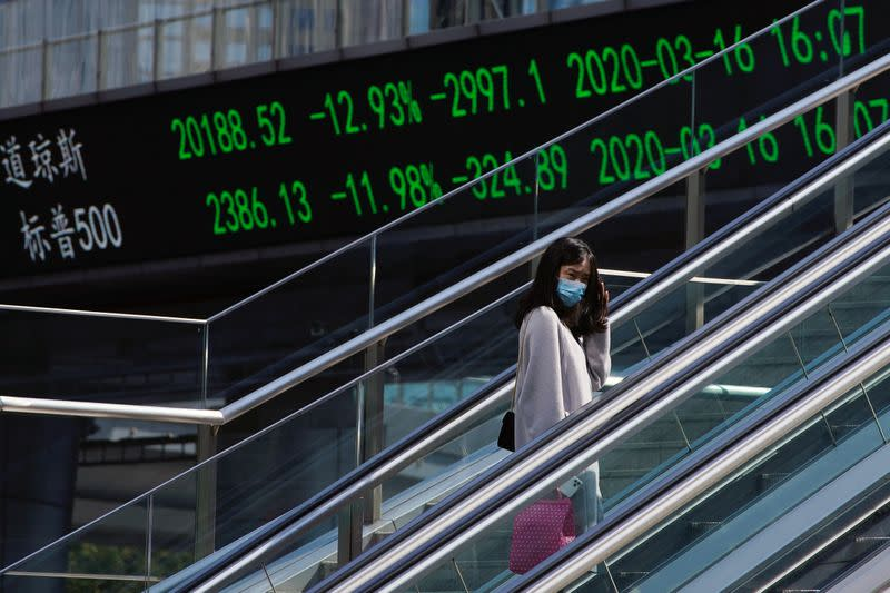 Global stocks slip on U.S.-China tensions; oil rises to 2-1/2-month high