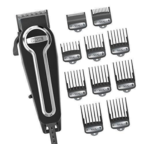 """<p><strong>WAHL</strong></p><p>amazon.com</p><p><strong>$49.99</strong></p><p><a href=""""https://www.amazon.com/dp/B00UKVNSLC?tag=syn-yahoo-20&ascsubtag=%5Bartid%7C2139.g.32053511%5Bsrc%7Cyahoo-us"""" rel=""""nofollow noopener"""" target=""""_blank"""" data-ylk=""""slk:BUY IT HERE"""" class=""""link rapid-noclick-resp"""">BUY IT HERE</a></p><p>Wahl is obviously a professional barber go-to brand, but if you don't have professional-level skills or want something more foolproof, this hair clipper kit is for you. The high quality clippers are the star, of course, but it comes with a variety of guards that ingeniously snap on for extra security, as well as other bonuses like a cape, scissors, and comb, all in one handy carrying case. It's essentially a haircut in a box and, according to one <em>Men's Health</em> editor who used it during lockdown, """"it's great.""""</p>"""