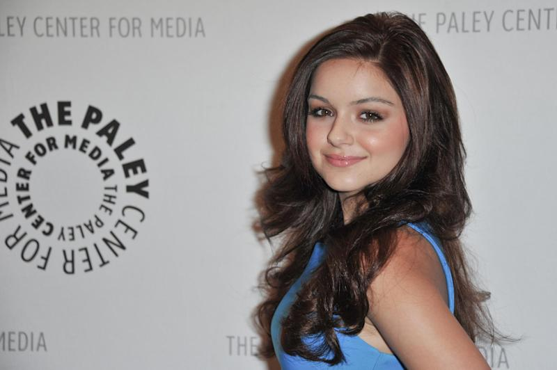 "FILE - In this Sept. 24, 2012 file photo, Ariel Winter attends the World Premiere of ""Batman: The Dark Knight Returns Part 1"" at The Paley Center for Media, in Beverly Hills, Calif. Court records show a judge in Oct. 2012 stripped Winter's mother of custody temporarily amid allegations she has been physically and emotionally abusive to the 14-year-old ""Modern Family"" star. (Photo by Richard Shotwell/Invision/AP, File)"