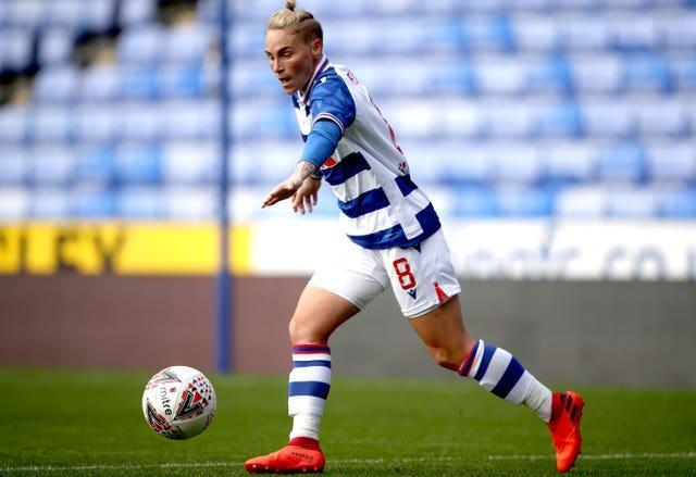 Fishlock is on loan at Reading from OL Reign (Nick Potts/PA).