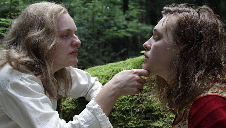 It's the small cruelties of men that eventually draw Rose (Odessa Young, right) and Shirley (Elisabeth Moss) closer together (Curzon Artificial Eye)