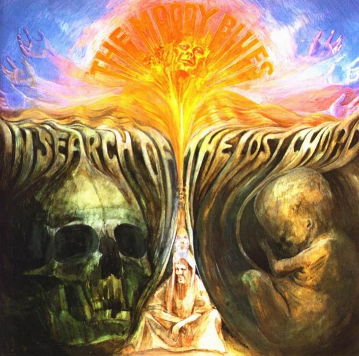third album by the moody blues is a psychedelic mind