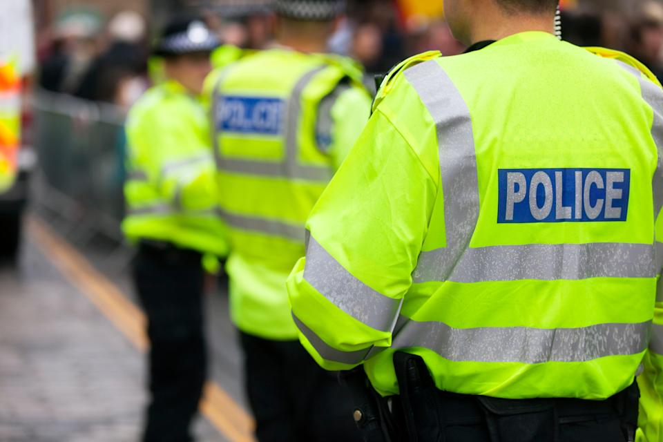 <p>PC Christopher Wilson, who is based in Cornwall, asked the woman if she wanted to 'get with a man in uniform'</p> (Getty Images/iStockphoto)