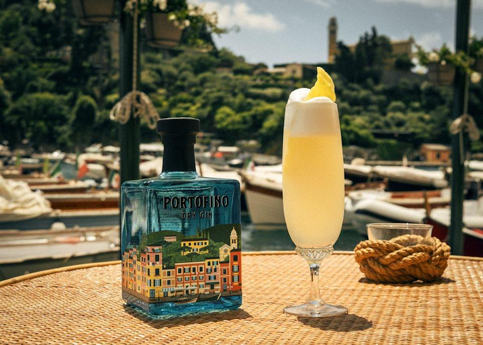<p>We're loving this Italian take on one of our editors' favorite cocktails. Plus, Italian-made Portofino Dry Gin makes a stylish addition to your bar cart.</p><p><strong>Ingredients: </strong></p><p>1 ounce Portofino Dry Gin</p><p>1/2 ounce fresh lemon juice</p><p>1/2 ounce simple syrup</p><p>Prosecco</p><p><strong>Directions:</strong></p><p>Add the first three ingredients to a cocktail shaker, fill with ice, and shake. Strain into a flute or saucer and top with Prosecco. </p><p><em>Courtesy of Italian Trade Agency.</em></p>