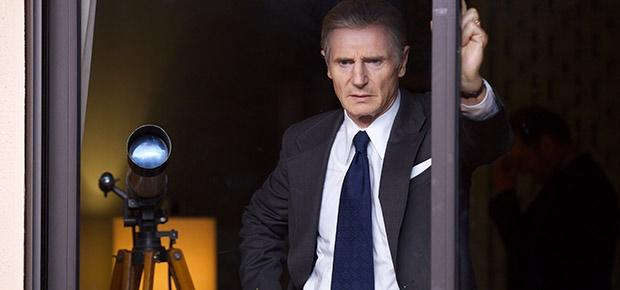 Liam Neeson as Mark Felt in the movie The Man Who