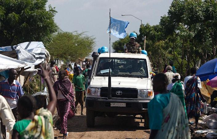 The UN has 12,500 peacekeepers deployed in South Sudan (AFP Photo/Ali Ngethi)