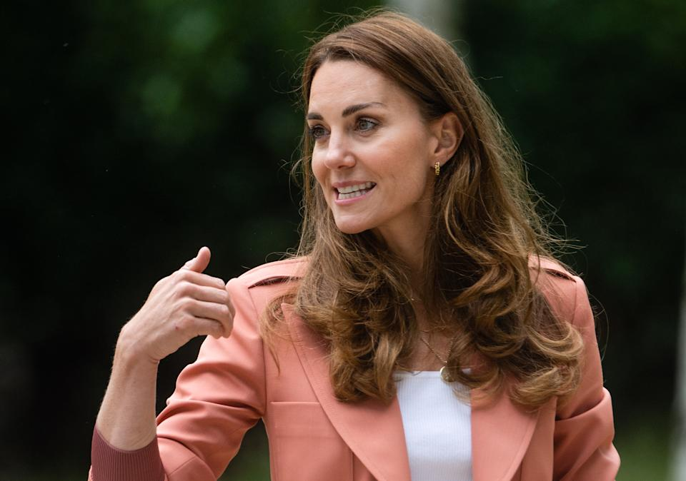 Kate, Duchess of Cambridge visits 'The Urban Nature Project'