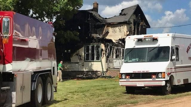 Correction: Wisconsin Fire story