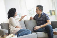 <p>Feeling like you can't stand even being in the same room as your partner anymore? Then you have a problem. Experts say that when arguments become a regular occurrence in your relationship, it can end up exhausting both people, leading to the end of your marriage pretty quickly. <i>[Photo: Getty]</i> </p>