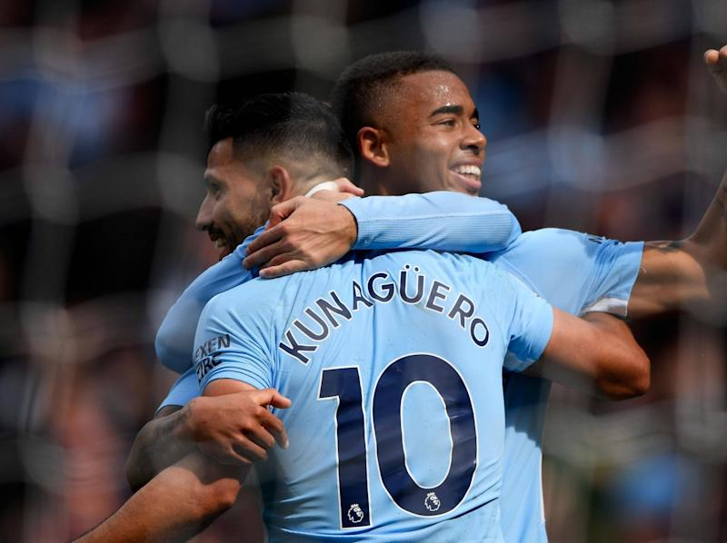 Pep Guardiola explains why Sergio Aguero and Gabriel Jesus can't play together for Manchester City