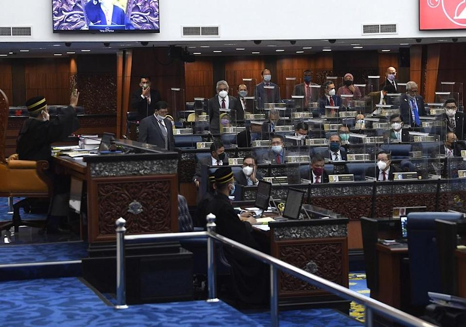 This week's special Dewan Rakyat sitting ended abruptly yesterday with a lockdown on the entire complex after Covid-19 cases were detected within its grounds. ― Bernama pic