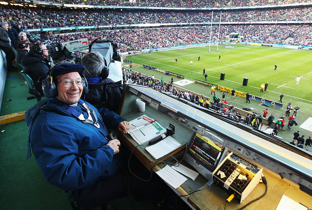 Voices of Sport: Ian Robertson - The BBC rugby man who produced an all-time classic piece of commentary when England won the World Cup
