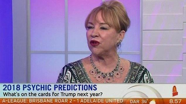 Psychic Kerrie Erwin gave her predictions for 2018. Photo: Channel 7