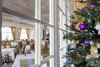 """<p>For a glamorous yet relaxed place to spend Christmas, look no further than the fabulous <a href=""""https://www.booking.com/hotel/gb/the-goring.en-gb.html?aid=2070929&label=christmas-hotels"""" rel=""""nofollow noopener"""" target=""""_blank"""" data-ylk=""""slk:Goring"""" class=""""link rapid-noclick-resp"""">Goring</a>. Opened in 1910 by Otto Goring, it's now the only five-star luxury hotel in London that is owned and run by the family that built it - so you can expect a wonderfully warm welcome. At Christmas, there's delectable food, gifts and plenty of festive cheer for big and small guests to enjoy. While here you'll want to speak to concierge 'Big John' and his team for all the recommendations of festive attractions to visit with the kids.</p><p><a class=""""link rapid-noclick-resp"""" href=""""https://www.booking.com/hotel/gb/the-goring.en-gb.html?aid=2070929&label=christmas-hotels"""" rel=""""nofollow noopener"""" target=""""_blank"""" data-ylk=""""slk:CHECK AVAILABILITY"""">CHECK AVAILABILITY</a></p>"""