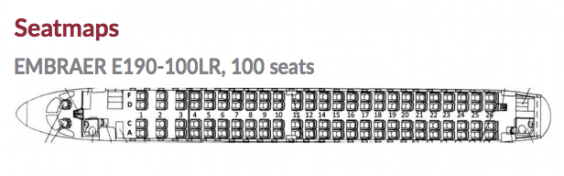 Two by two: the seating configuration of the chartered aircraft (WDL Aviation)