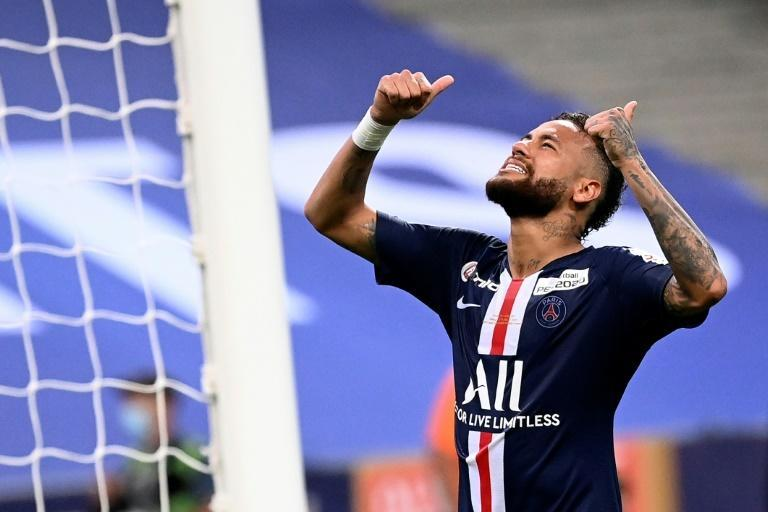 Neymar is for once fit going into a crunch Champions League knockout game for Paris Saint-Germain