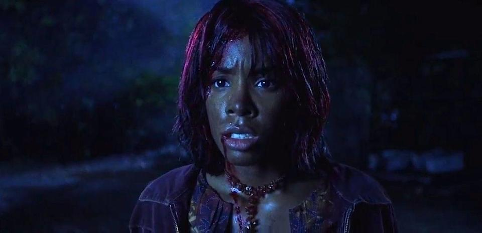 <p>No Destiny's Child song could have saved Kelly's character Kia from Freddy and Jason, who battled it out at the expense of the teens of Springwood, Ohio. </p>