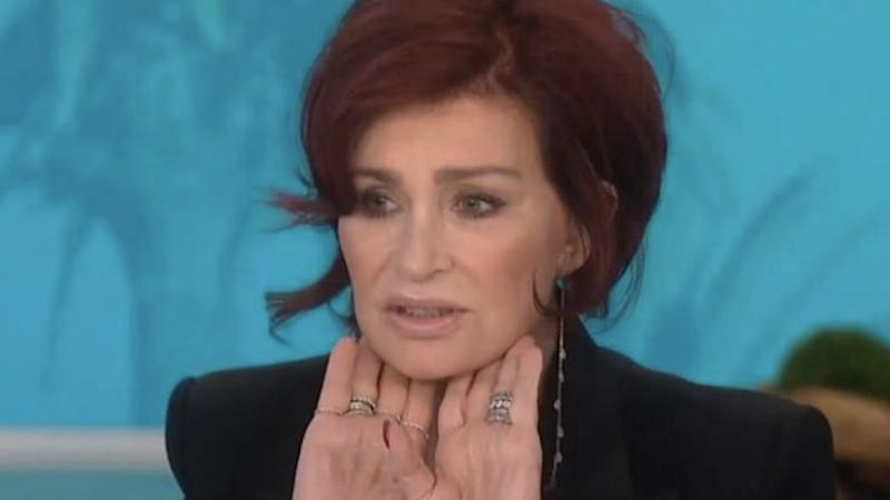 Sharon Osbourne has undergone her fourth facelift. Photo: The Talk