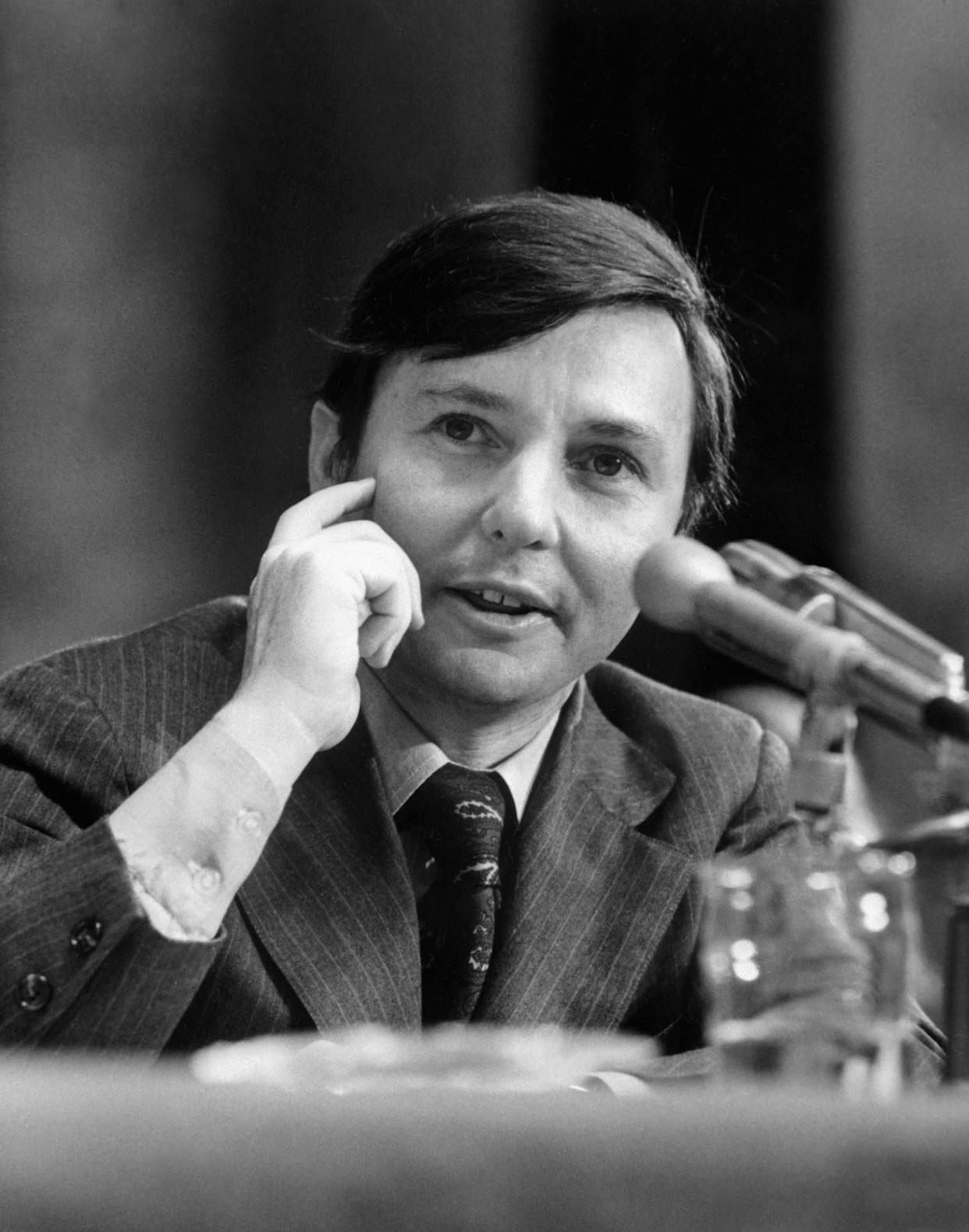 WASHINGTON, : Photo taken in the 1970's of Los Angeles attorney Donald H.Segretti, who played a role during the Watergate for former US President Richard Nixon. Segretti was paid to subvert and disrupt Democratic candidates' campaigns during the election year. AFP PHOTO (Photo credit should read AFP/AFP/Getty Images)