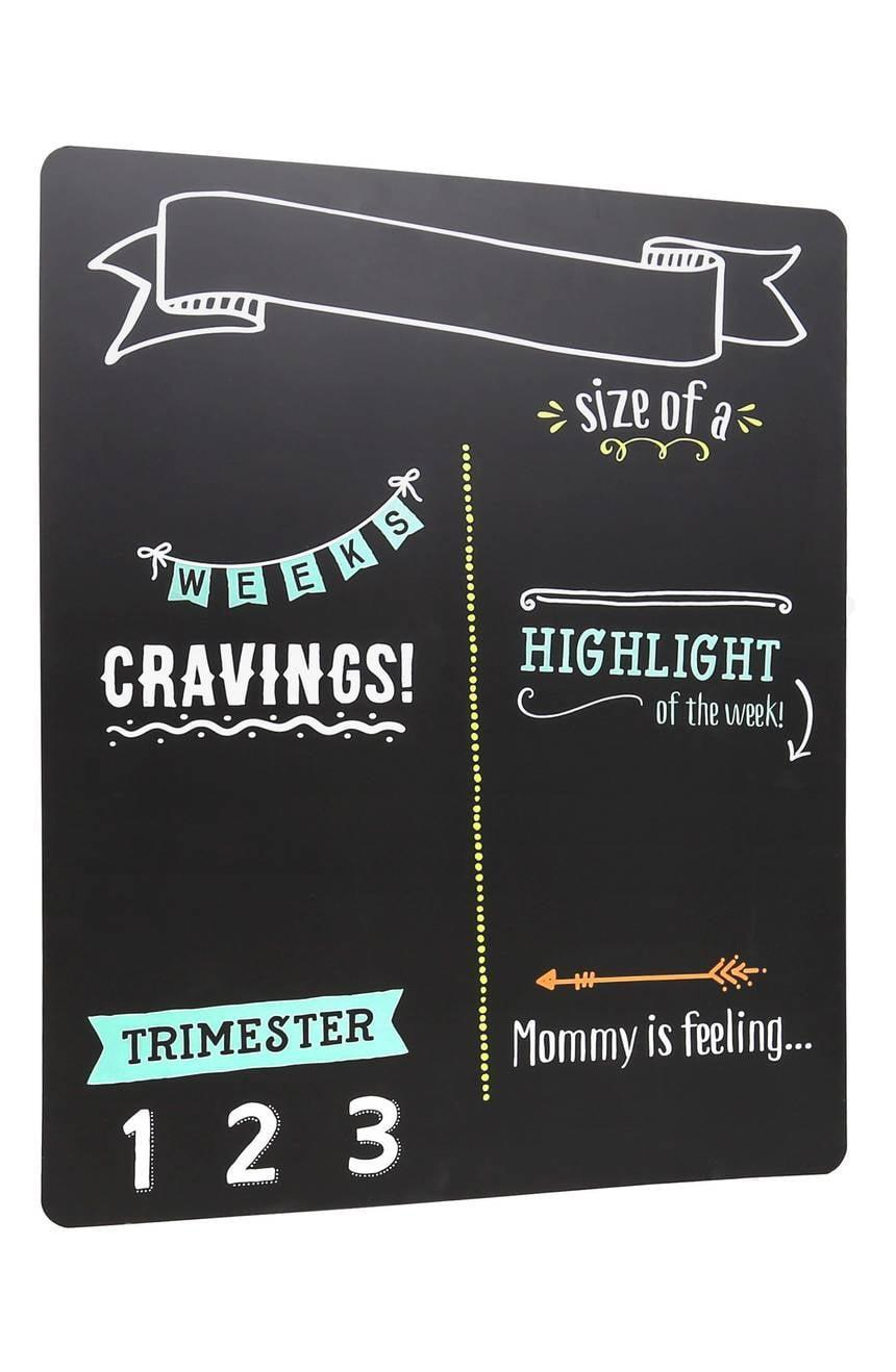 <p>Help her keep track of every pregnancy milestone in Instagram-worthy style with this photogenic <span>Pregnancy Chalkboard</span> ($45).</p>