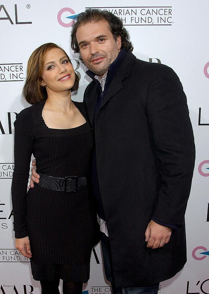 "Brittany Murphy steps out with screenwriter hubby Simon Monjack. Gregg DeGuire/<a href=""http://www.wireimage.com"" target=""new"">WireImage.com</a> - November 7, 2007"