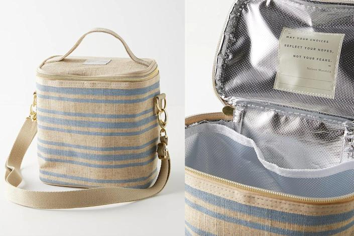 linen lunch bag soyoung anthropologie