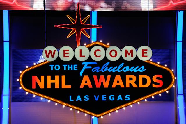 LAS VEGAS, NV - JUNE 22: A general view of the stage during the 2011 NHL Awards at The Pearl concert theater at the Palms Casino Resort June 22, 2011 in Las Vegas, Nevada. (Photo by Ethan Miller/Getty Images)