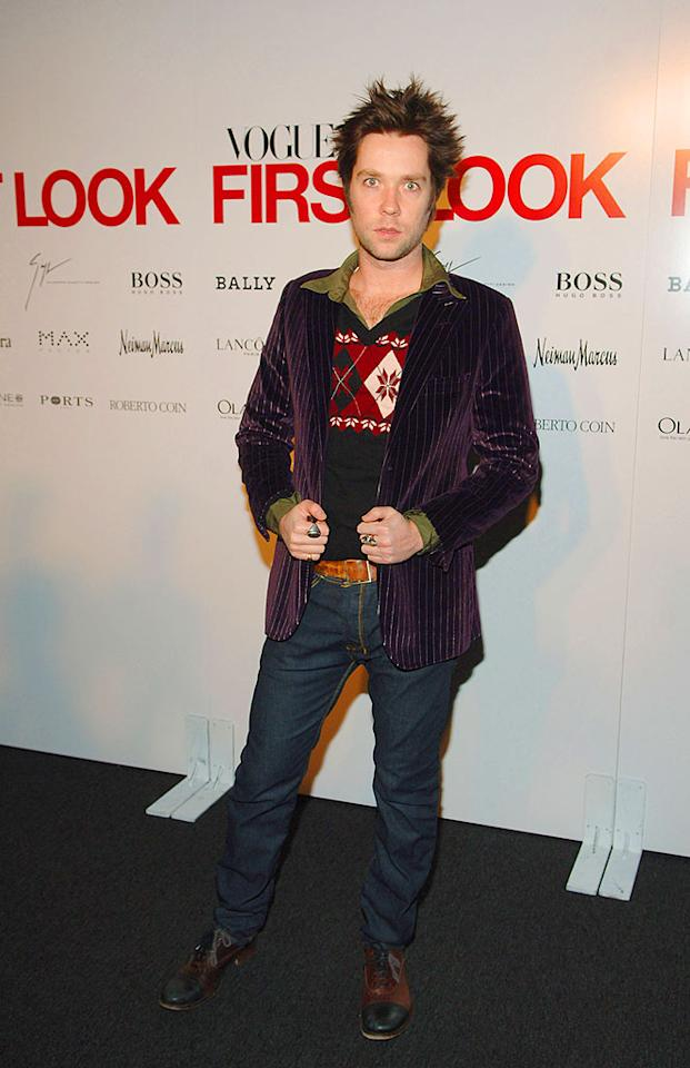 "Singer/songwriter Rufus Wainright works it during New York's Fall Fashion Week. Stephen Lovekin/<a href=""http://www.wireimage.com"" target=""new"">WireImage.com</a> - February 1, 2007"