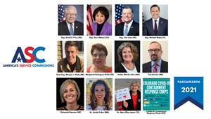 2021 America's Service Commissions (ASC) Innovation and Leadership Award Recipients