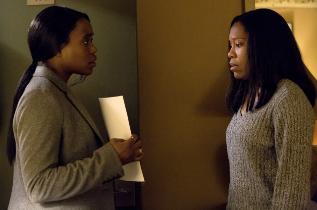 Clare-Hope Ashitey and Regina King in <em>Seven Seconds.</em> (Photo: Cara Howe/Netflix)