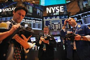 Traders at the New York Stock Exchange: Credit Reuters