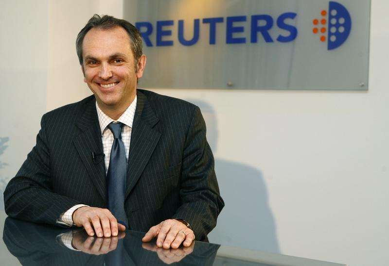Luca Maestri, CFO of GM Europe, poses after an exclusive interview at the Reuters Auto Summit in Frankfurt November 19, 2007. REUTERS/Alex Grimm