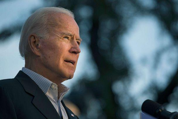 PHOTO: Democratic presidential candidate and former Vice President Joe Biden speaks at a community event while campaigning, Dec. 13, 2019, in San Antonio, Texas. (Daniel Carde/Getty Images)