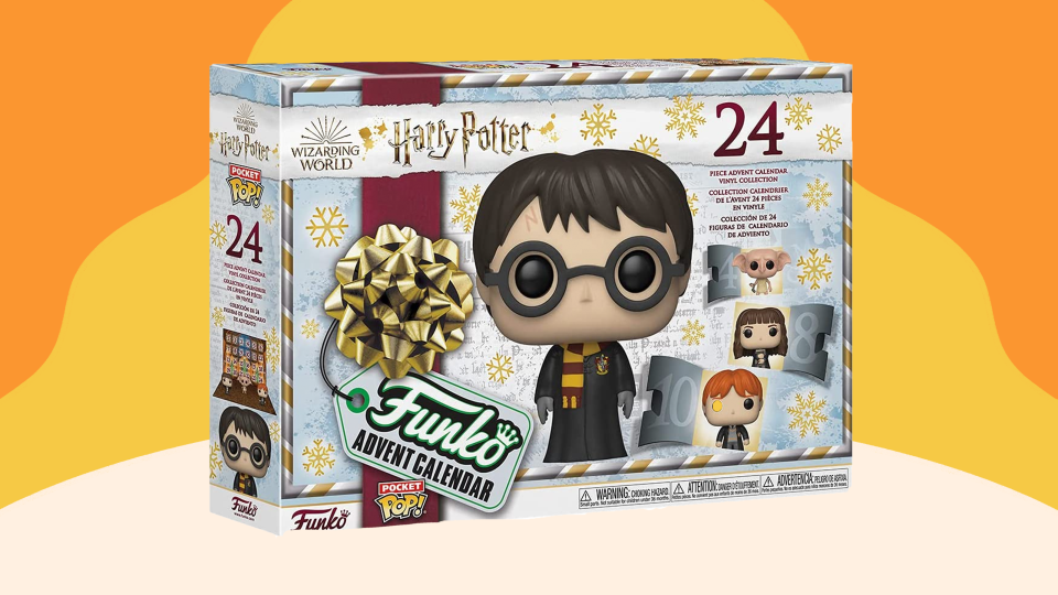 The Harry Potter Funko calendar features all the most popular characters from the series.