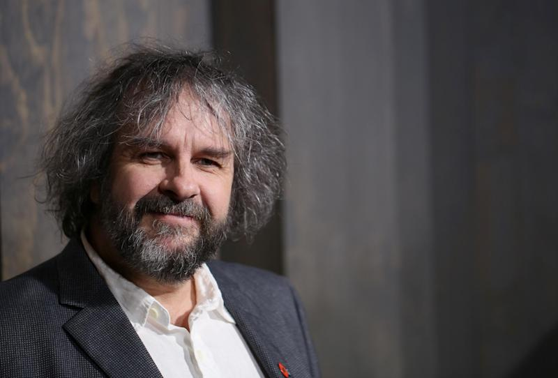 """FILE - This Dec. 2, 2013 file photo shows director Peter Jackson at the premiere of """"The Hobbit: The Desolation of Smaug"""" at the Dolby Theatre in Los Angeles. When Jackson released the first of his three """"Hobbit"""" films last year, he trumpeted the film's double-speed frame rate as a major innovation for moviemaking. With the release Friday of his """"The Hobbit: The Desolation of Smaug,"""" Jackson is being much quieter on the film's 48 frames-per-second, with the hopes that the movie's story won't be overshadowed by technology. (Photo by Matt Sayles/Invision/AP, File)"""