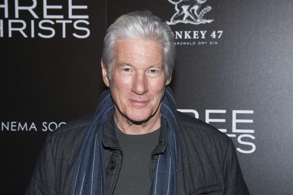 Richard Gere attends a screening of