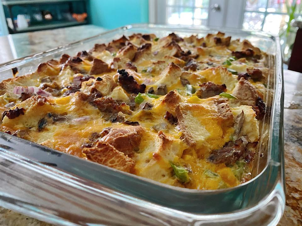 This cheesy, eggy goodness is bound to be a breakfast staple in my house. (Terri Peters)