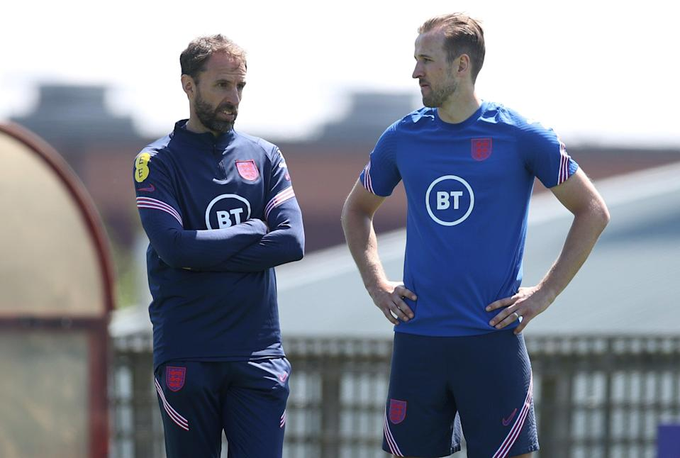 <p>Kane will feature in Southgate's side</p> (The FA via Getty Images)