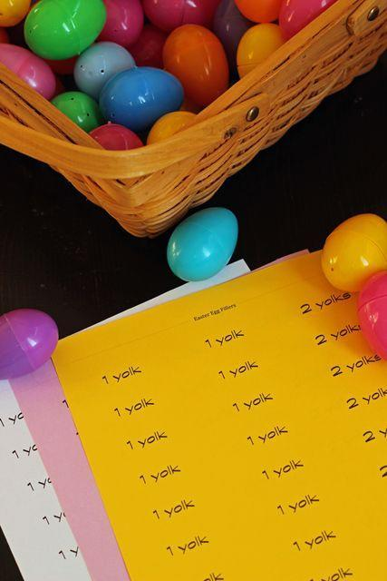 "<p>Instead of putting treats in the eggs, you can sneak in slips of paper that kids can redeem for fun prizes of your choice. </p><p><em><a href=""https://lifeasmom.com/a-different-kind-of-easter-egg-hunt/#more-44217"" rel=""nofollow noopener"" target=""_blank"" data-ylk=""slk:Get the tutorial from Life as a Mom »"" class=""link rapid-noclick-resp"">Get the tutorial from Life as a Mom »</a></em> </p>"