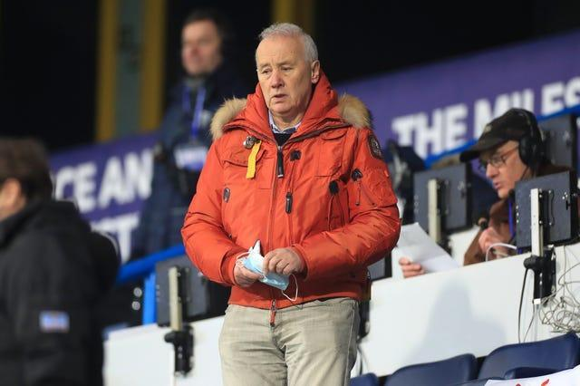 The new Champions League format is a concern to EFL chairman Rick Parry
