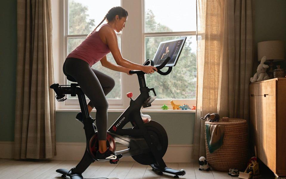 The US bike and exercise subscription company Peloton is now a major platform for pop music