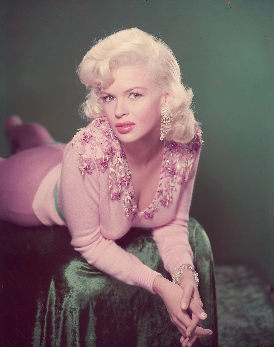 <p>Mansfield was a skilled marketer and, building off of her newfound pinup success, she decided to package herself as the newest blonde bombshell. She made pink her signature color and even bought a pink Cadillac to drive.</p>