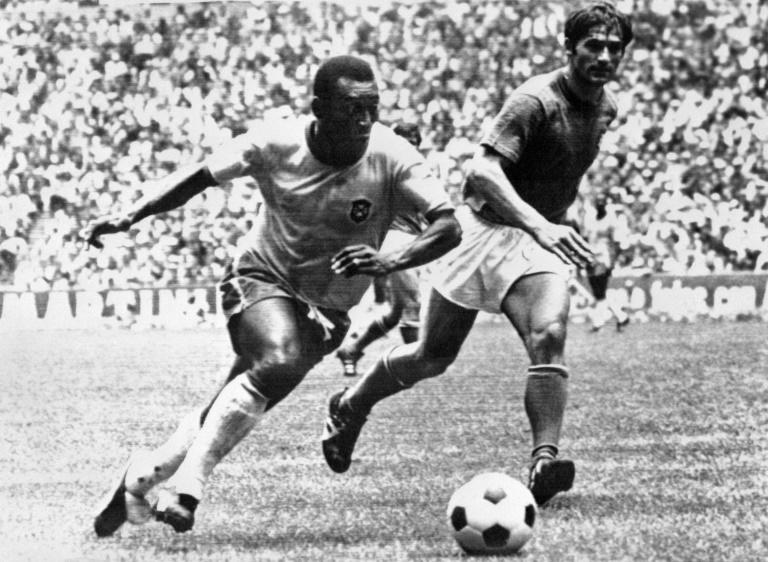 Italian defender Tarcisio Burgnich  found out in the final that Pele was not like everyone else