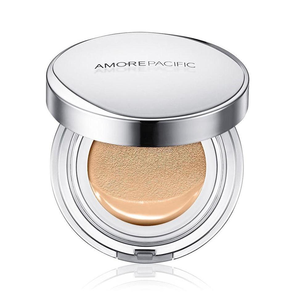 """<p><strong>amore pacific</strong></p><p>amorepacific.com</p><p><strong>$60.00</strong></p><p><a href=""""https://go.redirectingat.com?id=74968X1596630&url=https%3A%2F%2Fus.amorepacific.com%2Fcollections%2Fsun-protection%2Fproducts%2Fcolor-control-cushion-compact-broad-spectrum-spf-50&sref=https%3A%2F%2Fwww.elle.com%2Fbeauty%2Fg36558622%2Fbest-korean-sunscreens%2F"""" rel=""""nofollow noopener"""" target=""""_blank"""" data-ylk=""""slk:Shop Now"""" class=""""link rapid-noclick-resp"""">Shop Now</a></p><p>Get coverage in more ways than one. This cushion compact contains a tinted moisturizer loaded with SPF 50+, so you can refresh your complexion and sun protection on the go. </p>"""